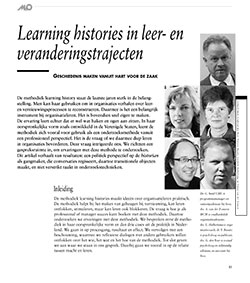 Learning Histories in leer- en veranderingstrajecten