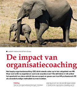 De impact van organisatiecoaching